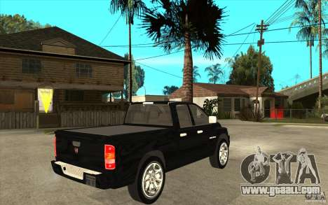 Dodge Ram 2500 2008 for GTA San Andreas right view