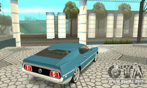 Ford Mustang Mach 1 1971 for GTA San Andreas left view