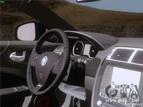 Jaguar XKR-S 2011 V2.0 for GTA San Andreas interior