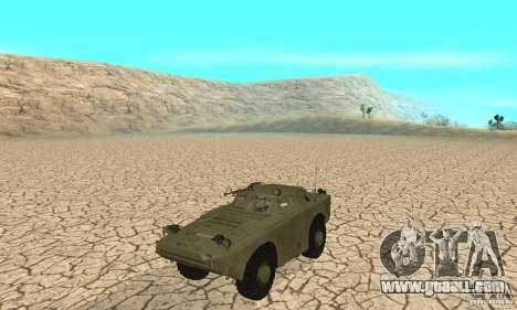 BRDM-1 Skin 1 for GTA San Andreas left view