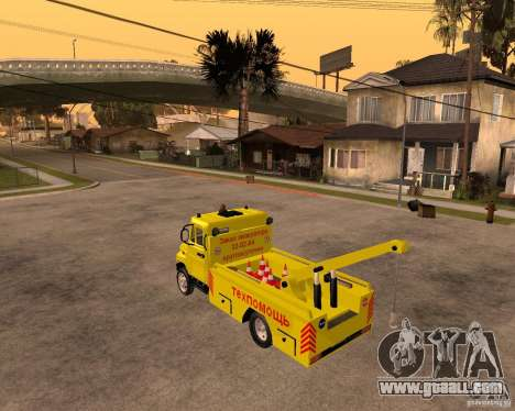ZIL 5301 Bull hauler for GTA San Andreas left view