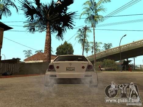 Lexus IS300 NFS Carbon for GTA San Andreas