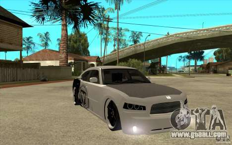 Dodge Charger SRT8 Tuning for GTA San Andreas back view