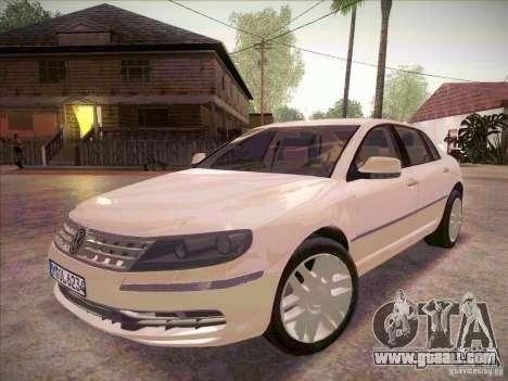 Volkswagen Phaeton 2011 for GTA San Andreas