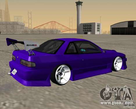 Nissan Silvia S13 Nismo tuned for GTA San Andreas left view