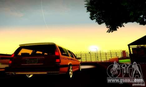 Volvo 850 R Taxi for GTA San Andreas right view