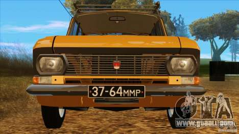 Moskvich 412 v2.0 for GTA San Andreas side view