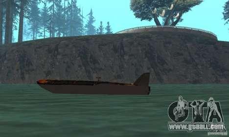 Human Viper for GTA San Andreas back left view