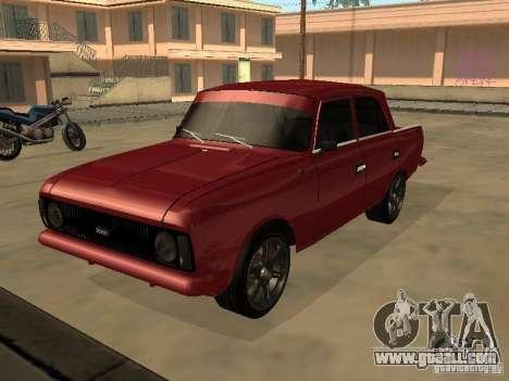AZLK 412 IE for GTA San Andreas