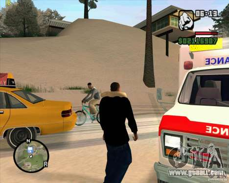 Ambulance for GTA San Andreas forth screenshot
