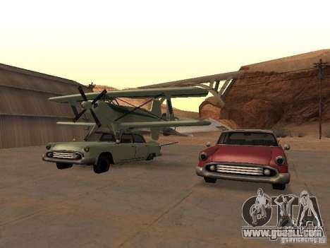 Car-plane for GTA San Andreas