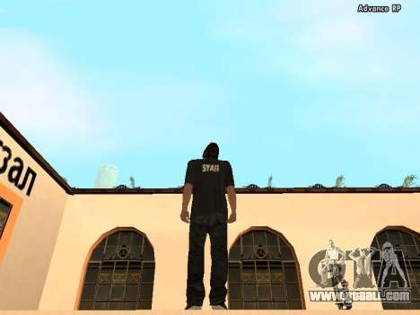 HD Skins STAFF for GTA San Andreas second screenshot