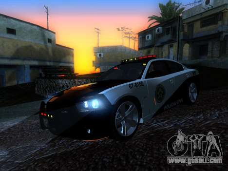 Dodge Charger SRT8 Police for GTA San Andreas back view