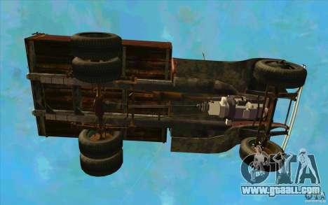 GAZ-AA for GTA San Andreas upper view
