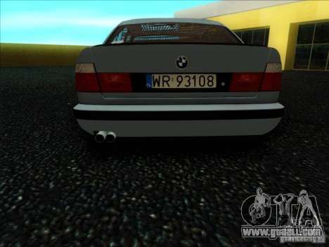 BMW 5 series E34 for GTA San Andreas right view