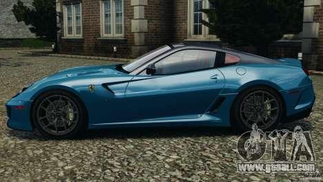 Ferrari 599 GTO 2011 for GTA 4 left view
