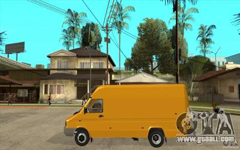 Iveco Turbo Daily for GTA San Andreas left view