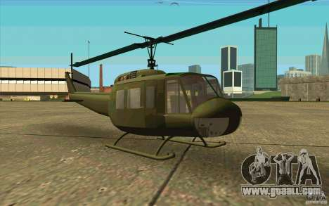UH-1D Slick for GTA San Andreas left view