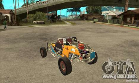 Dirt 3 Stadium Buggy for GTA San Andreas back left view