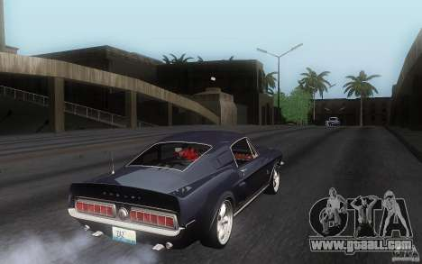 Shelby GT500KR for GTA San Andreas right view