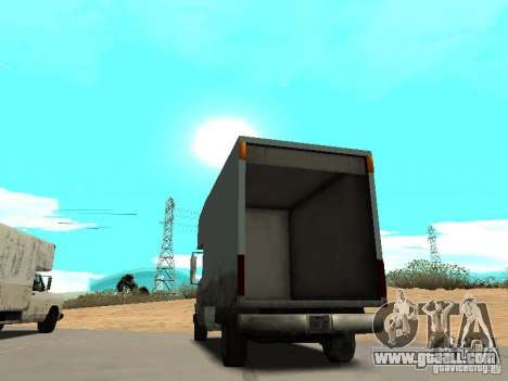 New Mule for GTA San Andreas back left view