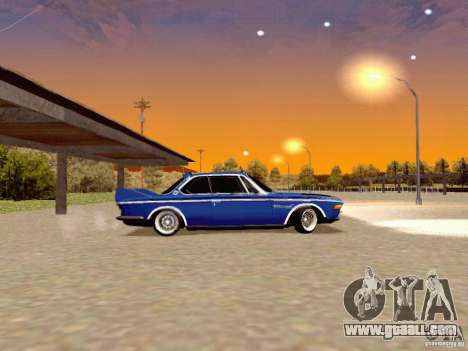 BMW 30 CSL Drift for GTA San Andreas left view