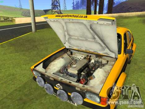 Opel Kadett for GTA San Andreas side view