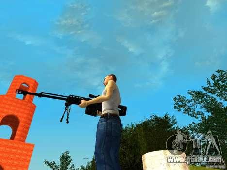Accuracy International AS50 for GTA San Andreas forth screenshot