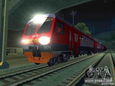 ÈD4M-0171 RUSSIAN RAILWAYS for GTA San Andreas