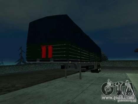 English trailer for Kamaz for GTA San Andreas left view