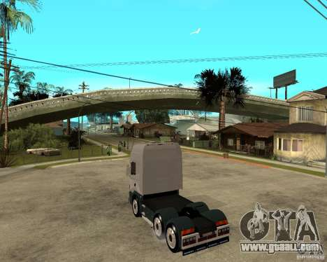 Scania 164L 580 for GTA San Andreas left view