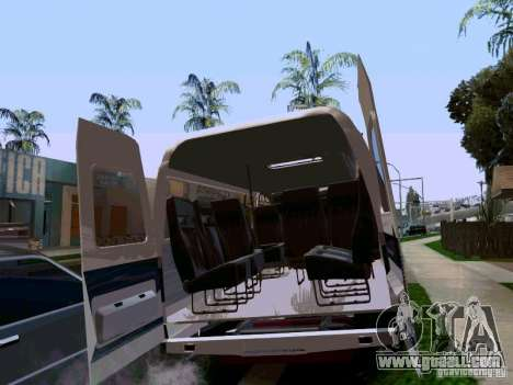 Gazelle 32213 1994 for GTA San Andreas side view
