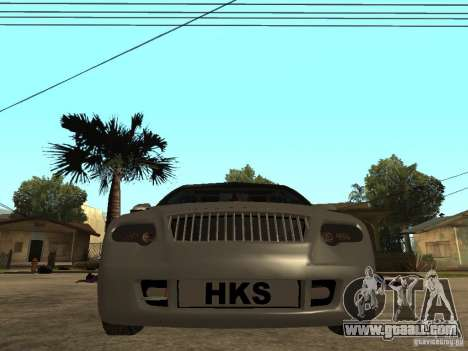 Skoda Octavia Custom Tuning for GTA San Andreas