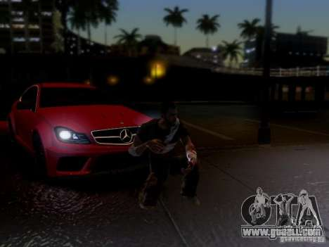 Mercedes Benz C63 AMG C204 Black Series V1.0 for GTA San Andreas side view
