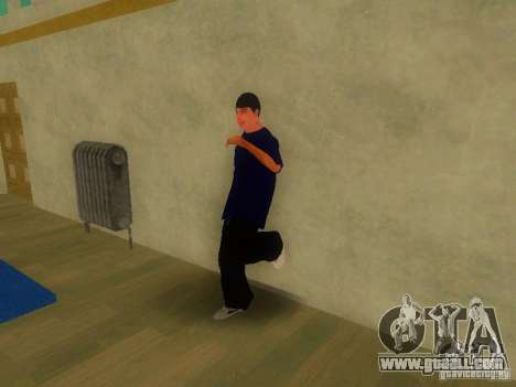Tricking Gym for GTA San Andreas forth screenshot