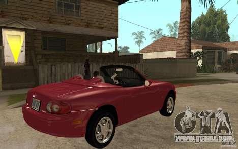 Mazda MX5 - Stock for GTA San Andreas right view