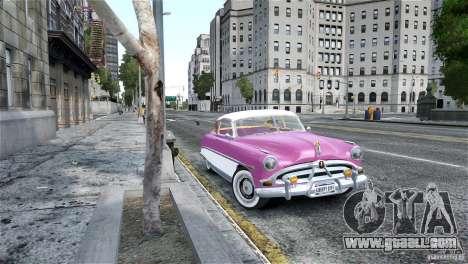 Hudson Hornet Coupe 1952 for GTA 4 back left view