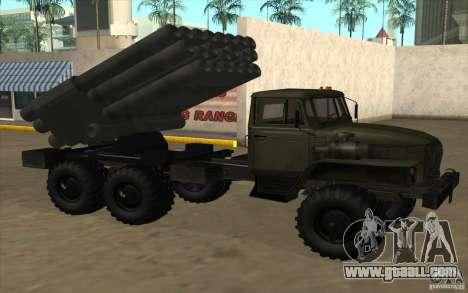 Ural 4320 Grad v2 for GTA San Andreas