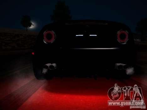 Alfa Romeo 8C Spider 2012 for GTA San Andreas engine