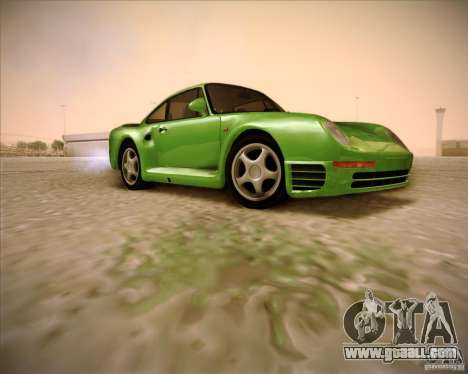 Porsche 959 1987 for GTA San Andreas right view