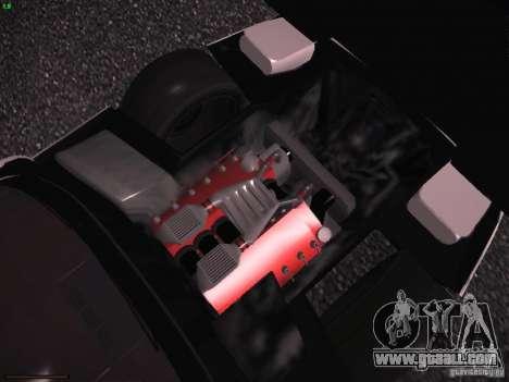 Chevrolet Corvette Grand Sport for GTA San Andreas bottom view