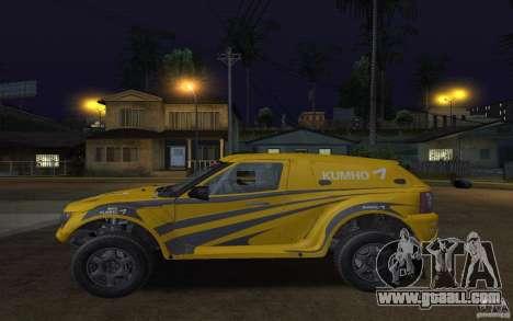 Bowler Nemesis for GTA San Andreas left view