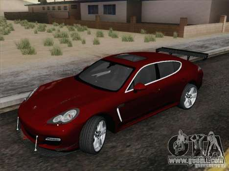 Porsche Panamera Turbo 2010 for GTA San Andreas right view
