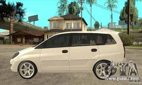 Toyota Innova Lowrider Rims 2 for GTA San Andreas left view
