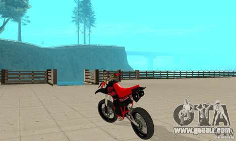 DT 180 Motard for GTA San Andreas right view