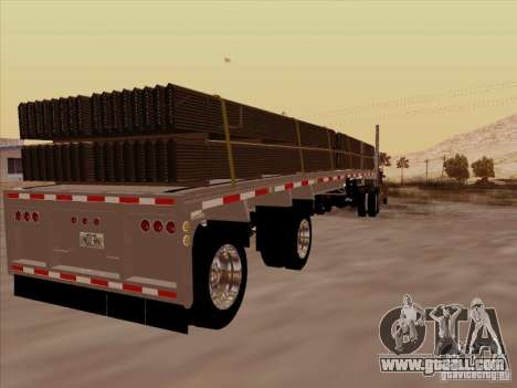 Trailer Artict1 for GTA San Andreas right view