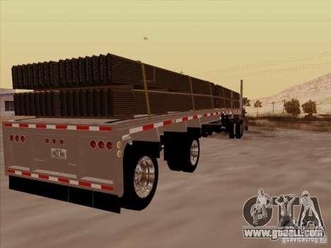 Trailer Artict1 for GTA San Andreas right view
