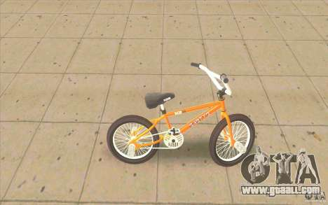 K2B Ghetto BMX for GTA San Andreas left view