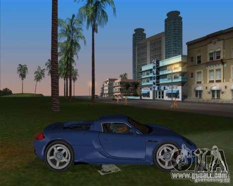 Porsche Carrera GT for GTA Vice City left view