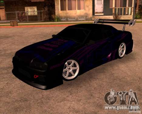 Elegy 0.2 for GTA San Andreas left view